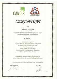 Certyfikat Candis